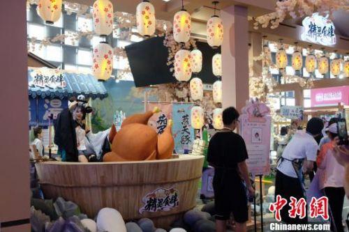 第十五届中国国际动漫游戏博览会(CCG EXPO 2019)。 王笈 摄