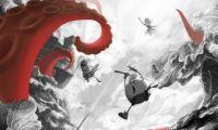 动画电影《美食大冒险之英雄烩》发布水墨概念海报