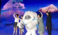 张子枫和陈飞宇一起为动画电影《雪人奇缘》配音实现冒险梦