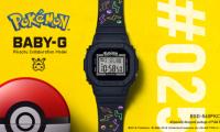 BABY-G × 皮卡丘限量合作款 第25只寶可夢為BABY-G誕生25周年