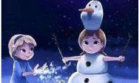 """动漫电影《冰雪奇缘》中的雪宝竟然爱上夏天 它才是""""情圣""""?"""