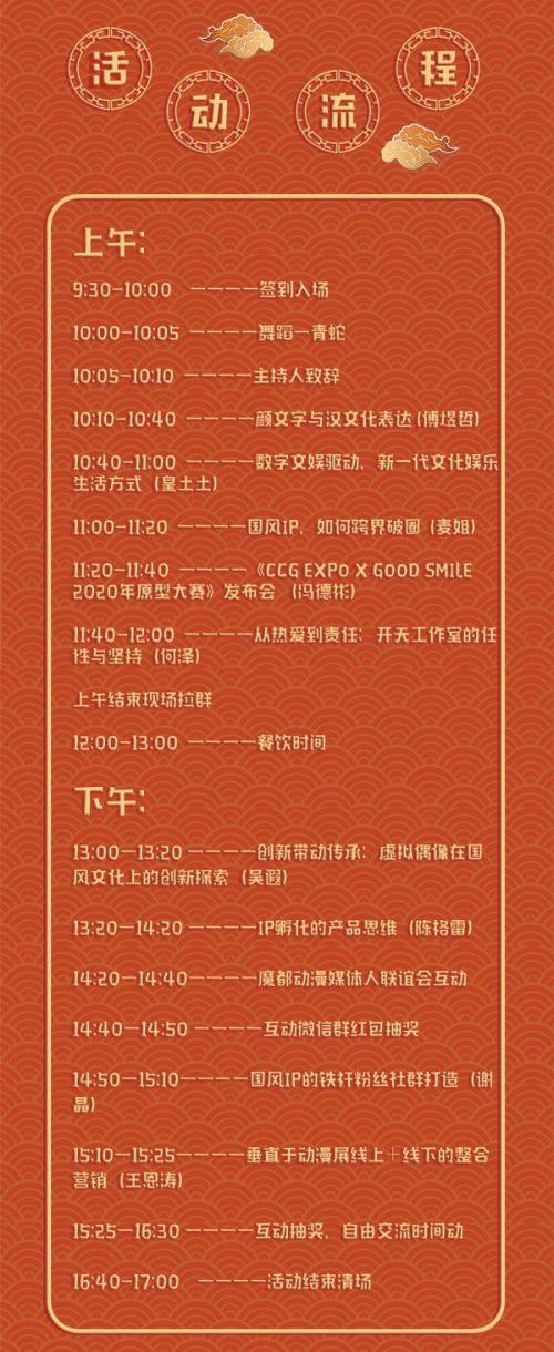 第三届中国(上海)ACG行业交流会公布活动嘉宾和流程,12月15日增设上海NTC工作坊IP孵化专场 业界信息 第5张