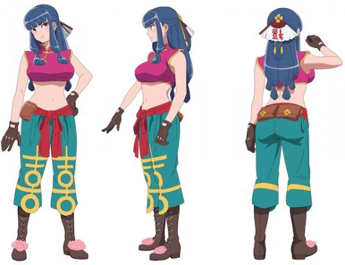 全新原创动画《天晴烂漫!》确定4月开播 新角色艺图公布