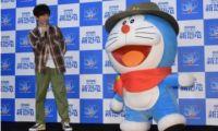 木村拓哉出席动画电影《哆啦A梦:大雄的新恐龙》公开录音活动