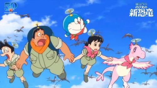 《哆啦A梦:大雄的新恐龙》新PV公开,大雄与一对双胞胎恐龙偶遇的惊奇冒险