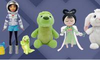 动画电影《飞奔去月球》毛绒娃娃等周边玩具国庆推出