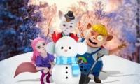 """动画电影《魔法鼠乐园》发布""""大雪版""""海报"""