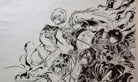漫画《滑头鬼之孙》作者椎桥宽公开最新绘图