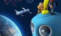 动画电影《外星恐龙:哈哈!地球人》发布首张概念海报