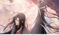 国产动画《魔道祖师》公开日语配音版的主视觉图