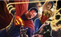 动画电影《不义联盟》最新宣传海报以及发售时间发布