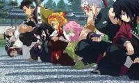 动画版《鬼灭之刃》9柱齐聚 富冈义勇成为最特别的普通人