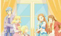 TV动画《转生成为了只有乙女游戏破灭Flag的邪恶大小姐》Blu-ray vol.4封面图公开